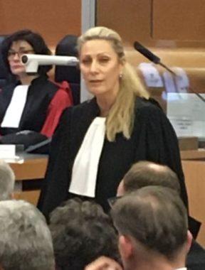 Audience solennelle : Evelyne Tauleigne, nouveau bâtonnier du barreau de Grenoble. (c) Fanny Hardy - Place Gre'net