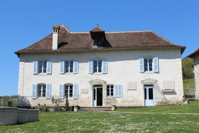 Site de la Maison d'Izieu (Ain). DR
