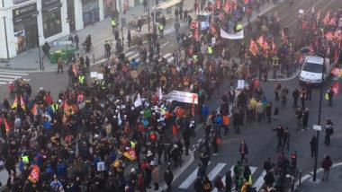 Regain de mobilisation contre la réforme des retraites. © Paul Turenne - Place Gre'net