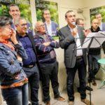 Le candidat PS Laurent Thoviste a profité de l'inauguration de son local de campagne pour lancer ses ambitions pour Fontaine et tacler ses concurrents.