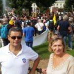 Raoul Urru et Pascale Versaut, leaders du collectif Vivre Eybens pour les municipales 2020 DR