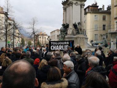 Cinq ans après les attentats de janvier 2015, « Toujours Charlie ? » © Joël Kermabon - Place Gre'net