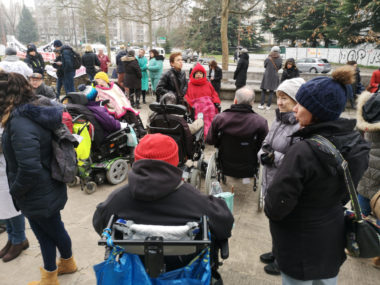 Parmi les soutiens aux infirmiers libéraux de nombreuses personnes en situation de handicap. © Joël Kermabon - Place Gre'net