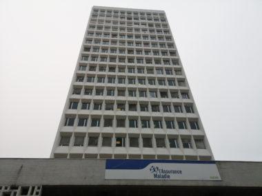 La tour du siège de la CPAM de l'Isère à Grenoble. © Joël Kermabon - Place Gre'net