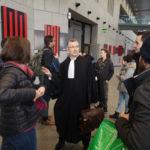 Claude Coutaz, avocat de l'un des prévenus pour le procès des gilets jaunes. © Joël Kermabon - Place Gre'net