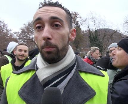 Le soutien de Julien Terrier à Éric Piolle divise les gilets jaunes