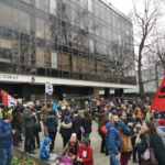 Les personnels de l'Éducation nationale appelés au rassemblement devant le Rectorat de Grenoble mercredi 24 juin