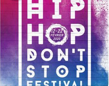 Une hip hop don't stop festival