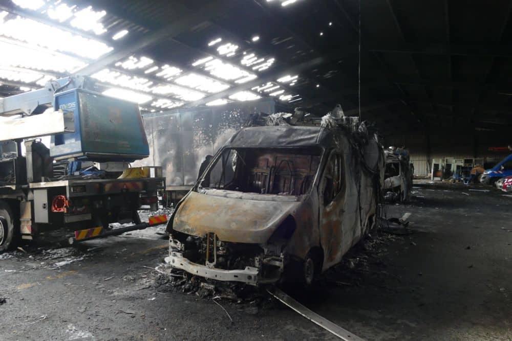 Si le nouvel incendie à Enedis n'a pas fait de victimes, Éric Vaillant dit craindre que la vague de pyromanie sur l'agglomération ne finisse pas tuer. DR