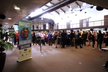"""La journée """"Impacts!"""" du CJD en faveur du développement durable a réuni 300 entreprises rhônalpines. © Anissa Duport-Levanti"""
