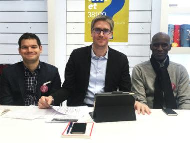Le candidat aux municipales Olivier Noblecourt affirme l'importance du débat d'idées dans sa campagne et dénonce la difficulté d'accès aux salles publiques.