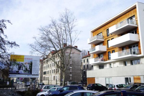 Tout le quartier du Châtelet est réaménagé, avec une crèche, un pôle associatif et 330 nouveaux logements. © Anissa Duport-Levanti