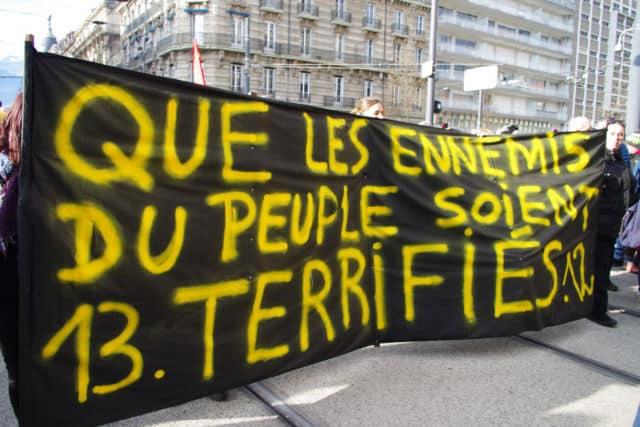 Là où d'autres ont presque lancé un appel à la révolution. © Anissa Duport-Levanti
