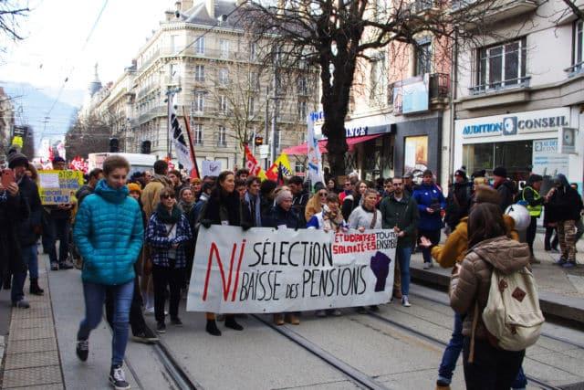 Ou encore celle des étudiants en lutte contre la précarité. © Anissa Duport-Levanti
