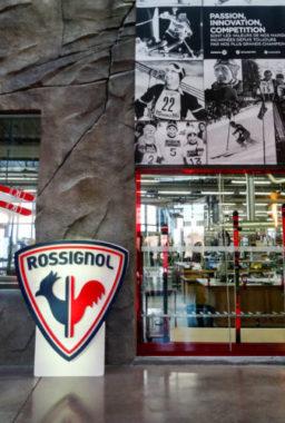 L'un des ateliers de Rossignol, au coeur du siège de la marque