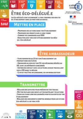 Affiche éco-délégué © education.gouv