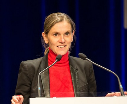 La ministre déléguée à l'Industrie Agnès Pannier-Runacher (de nouveau) en visite en Isère le 7 mai 2021