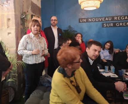 Mise en cause dans une affaire de post douteux, une colistière d'Émilie Chalas, candidate LREM à Grenoble, se retire de la campagne des municipales.