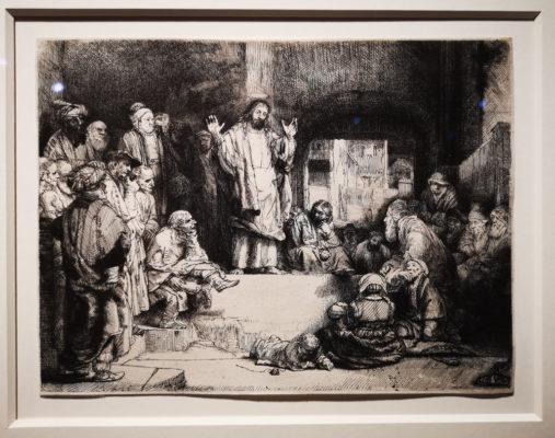 Des gravures présentant notamment des scènes religieuses. © Joël Kermabon - Fond Glénat