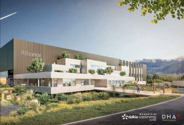 Voilà à quoi devrait ressembler le nouveau centre de tri, qui accueillera des visites de scolaires pour éduquer au tri des déchets. © Dalkia Wastenergy