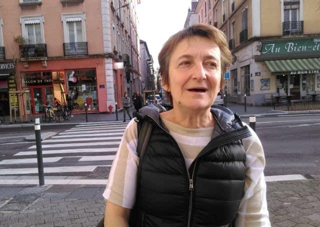 Catherine Brun, candidate Lutte Ouvrière de Grenoble © Florent Mathieu - Place Gre'net