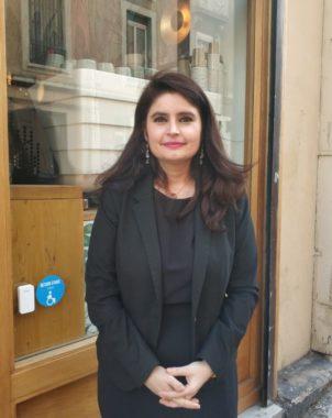 Hélène Thouy du parti animaliste _C_ Lise Gaeta Place Gre'net 4