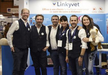 Equipe Linkyvet lors du congrès national vétérinaires - AFVAC 2019 © Linkyvet