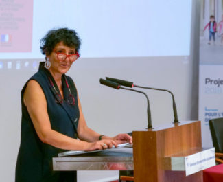 Helene Insel seminaire encadrement 2019 - crédit Académie de Grenoble