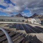 Des panneaux solaires fleurissent sur la Belle électriqueLa production d'électricité sur le toit de la Belle Électrique fournira 50 foyers (hors chauffage). © Anissa Duport-Levanti - Place Gre'net