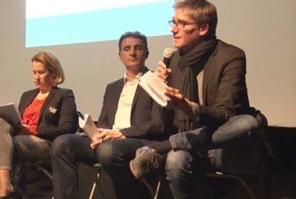 A Grenoble, le candidat du PS Olivier Noblecourt multiplie les appels du pied à l'adresse d'Eric Piolle, grand favori aux municipales. En vain.