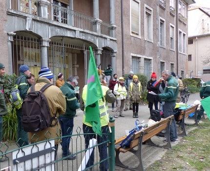 Rassemblement ONF Grenoble 13 février 2020 © Florent Mathieu - Place Gre'net