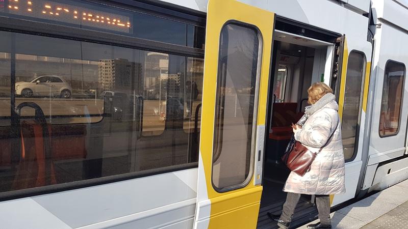 Tramway de Grenoble janvier 2020 © Séverine Cattiaux - Place Gre'net