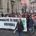 Marche pour le climat du 1er février 2020 à Grenoble. © Joël Kermabon - Place Gre'net