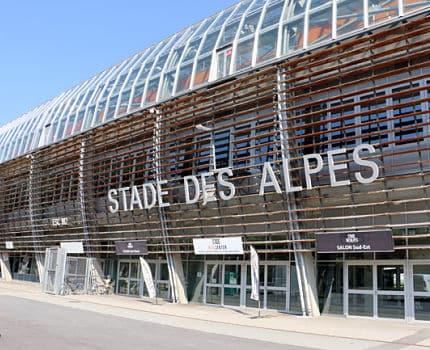 Stade des Alpes. © Archive Eléonore Bayrou