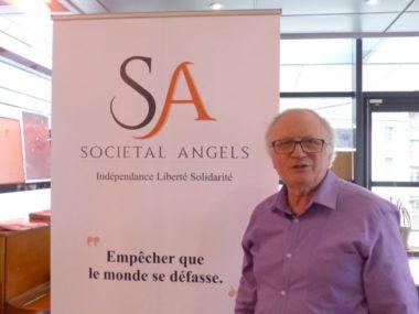 Patrick Mérigot, président de l'association Societal Angels et de la Fondation Jeannine & Maurice Mérigot - crédit Place Gre'net