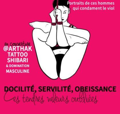 La dernière couverture de Patriarchie Magazine a été réalisée en collaboration avec le tatoueur grenoblois Arthak. © Pauline Rochette