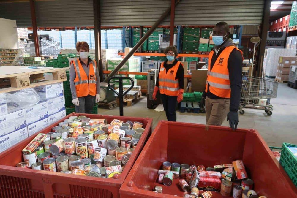 Le site Merci People recense également les initiatives de solidarité, comme ici la Banque alimentaire de l'Isère © BAI