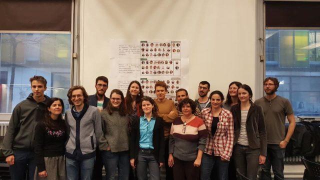 Le collectif Métro présentait lundi 2 février 2020, les résultats de sa collecte de signatures © Séverine Cattiaux - Place Gre'net