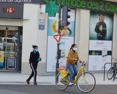 Grenoble mardi 17 mars avant confinement masques coronavirus covid-19 © Florent Mathieu - Place Gre'net