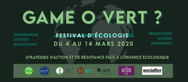 Festival Game O'Vert 2020 - DR