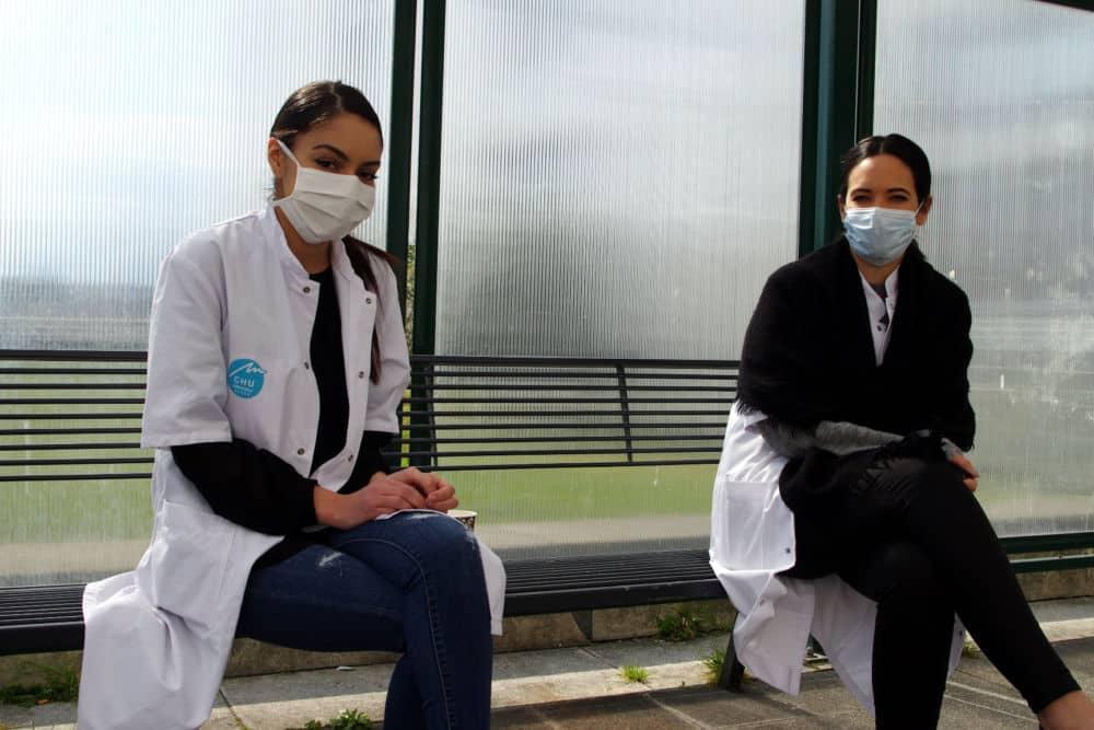 Les personnels du CHU de Grenoble font face au coronavirus © Anissa Duport-Levanti - Place Gre'net