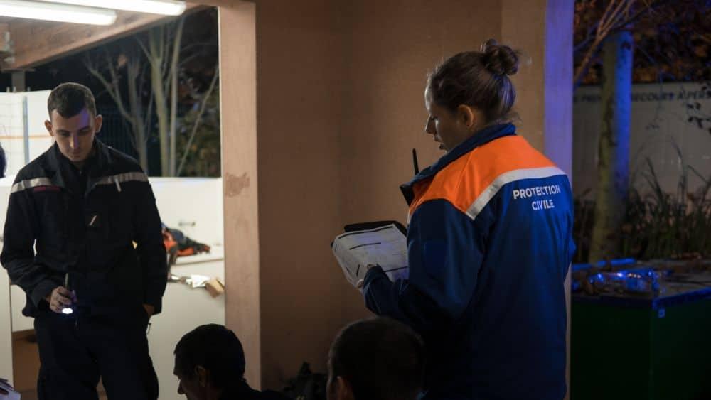 La Protection civile de l'Isère travaille auprès des autres services d'aide aux personnes © Société civile de l'Isère