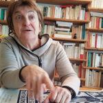 UNE Catherine Brun, tête de liste LO en lice pour les municipales 2020 à Grenoble, le 4 mas © Séverine Cattiaux- Place Gre'net