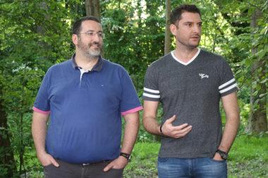 Entraide : une plateforme pour collectivités née à Meylan. Laurent Lannelucq,et Vincent Augerot, les fondateurs d'Agilteam et initiateurs de la plateforme d'entraide. © Agilteam