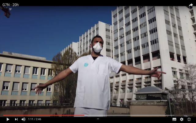 Samir Baloul, dans le clip de la chanson