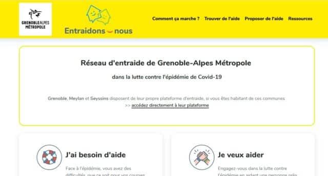 Plateforme d'entraide de Grenoble Alpes Métropole