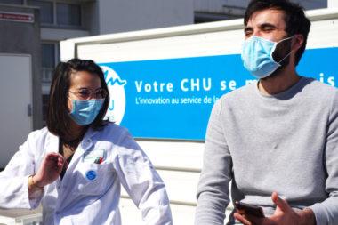 Pour faire face au Covid-19, le CHU de Grenoble a augmenté de 80% sa capacité d'accueil en réanimation. © Anissa Duport-Levanti - Place Gre'net