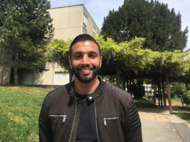 Samir Baloul, membre du groupe de rap grenoblois G7N. © Anissa Duport-Levanti - Place Gre'net