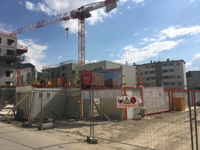 Le chantier du Totem à Saint-Martin-d'Hères © SDH