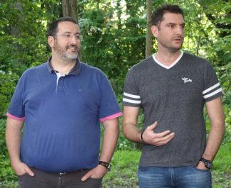 Vincent Augerot et Laurent Lannelucq, les fondateurs d'Agilteam initiateurs de la plateforme d'entraide. © Agilteam